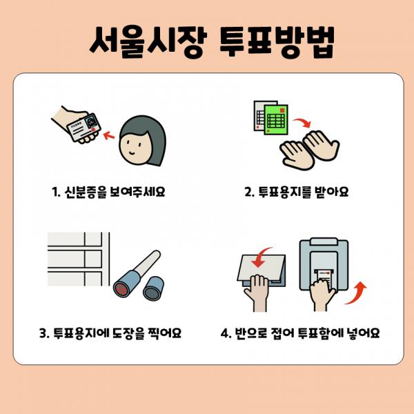 서울시장 투표방법?