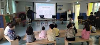 발달장애인 인식개선강사 오케스트라 장애이해교육 진행